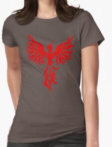 Red Phoenix Womens Fitted T-Shirt