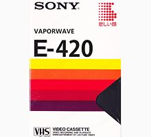 Vaporwave VHS Long Sleeve T-Shirt