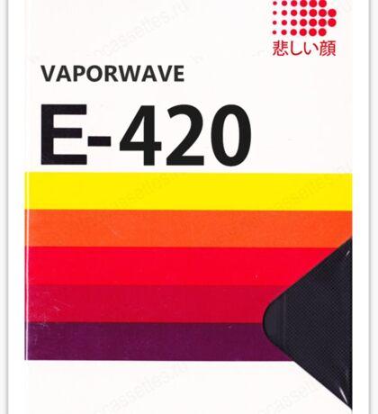 Vaporwave VHS Sticker
