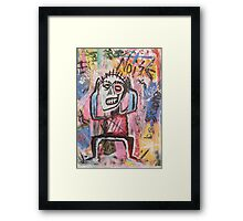 Untitled (Noise) Neo-Expressionism Framed Print