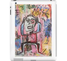 Untitled (Noise) Neo-Expressionism iPad Case/Skin