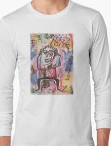 Untitled (Noise) Neo-Expressionism Long Sleeve T-Shirt