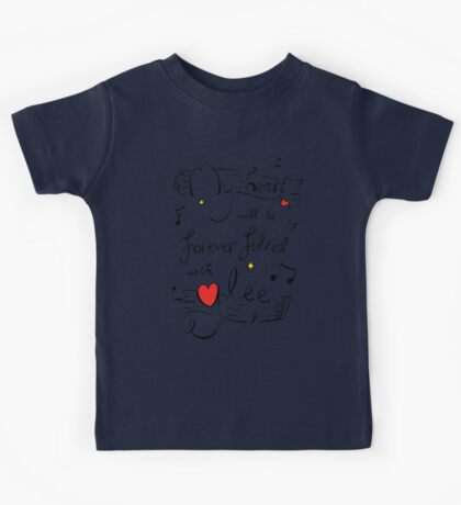 My Heart will be Forever Filled with Glee Kids Tee