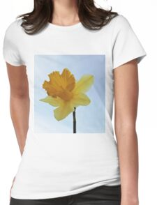 Early Daffodil Womens Fitted T-Shirt