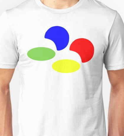 Super NES Logo (Flat) Unisex T-Shirt