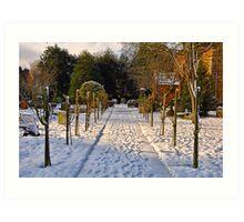 Snow Scene~ Art Print