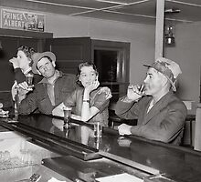 Saturday Night at the Saloon, 1937 by historyphoto