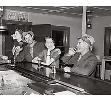 Saturday Night at the Saloon, 1937 Photographic Print