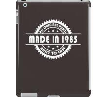 MADE IN 1985 iPad Case/Skin