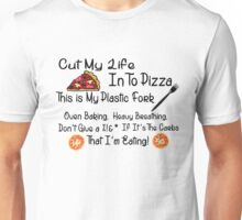 Funny Food Pizza Song Lyrics Unisex T-Shirt