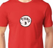 Thing Three Unisex T-Shirt