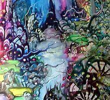 mystic morning stranger by John Buckland