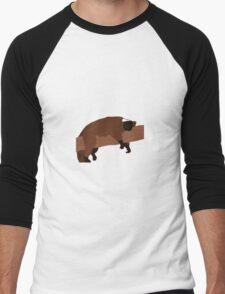The lazy lemur Men's Baseball ¾ T-Shirt