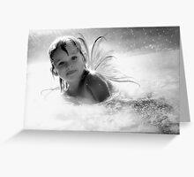 Water Nymph Greeting Card