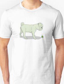 Light Pug and Ball T-Shirt
