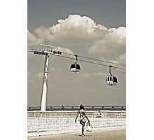 Cable Car Girl Photographic Print