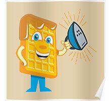 Waffle Iron Poster