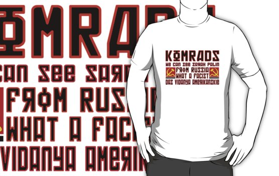 Komrads...What a Facist. by montdragon