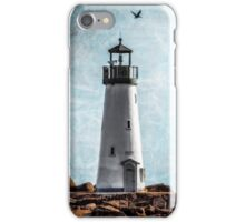 Walton Lighthouse Santa Cruz, California iPhone Case/Skin