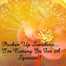 Pucker Up Sunshine! by Visual   Inspirations