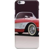 1958 Chevrolet Corvette Convertible 'Studio I' iPhone Case/Skin