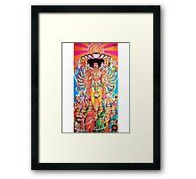 Jimi Hendrix -- Axis: Bold as Love Framed Print