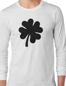 Black shamrock Long Sleeve T-Shirt