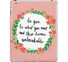 Unbreakable iPad Case/Skin
