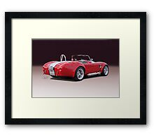1965 Shelby Cobra 'Studio II' Framed Print