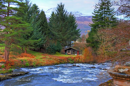 River Dochart View by Tom Gomez