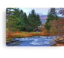 River Dochart View Canvas Print