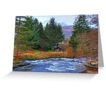 River Dochart View Greeting Card