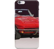 1967 Chevrolet Corvette Convertible iPhone Case/Skin