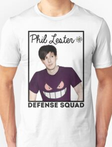 Join the PHIL LESTER DEFENSE SQUAD (Black) Unisex T-Shirt