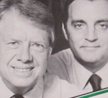 Carter y Mondale Sticker
