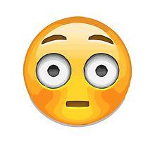 Flushed Face Apple / WhatsApp Emoji by emoji
