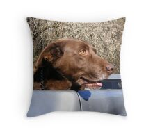 Bubba's Ready To Go! Throw Pillow