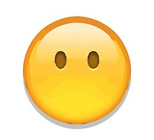 Face Without Mouth Apple / WhatsApp Emoji by emoji