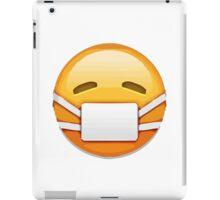 Face With Medical Mask Apple / WhatsApp Emoji iPad Case/Skin