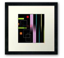 Peritectic System Framed Print