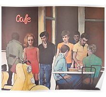 Cafe II: Scooter Girl Poster