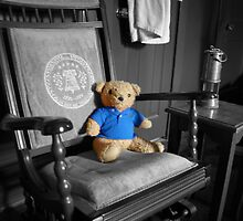 Ted in Blue by eelsblueEllen