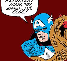 You tell 'em, Cap by kbeehivep