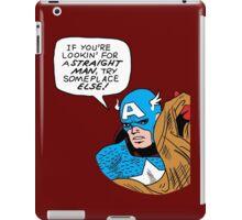 You tell 'em, Cap iPad Case/Skin