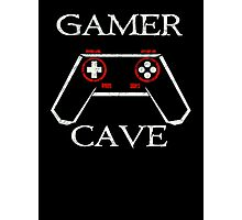 For The Gamer Cave Photographic Print