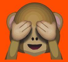 See-No-Evil Monkey Apple / WhatsApp Emoji Kids Clothes