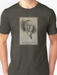 Calvin Coolidge Unisex T-Shirt
