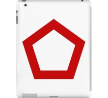 Indonesian Air Force - Roundel iPad Case/Skin