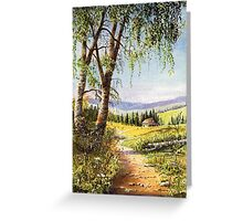 Woodend Cottage Greeting Card