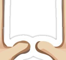 Person Raising Both Hands In Celebration Apple / WhatsApp Emoji Sticker